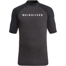 Quiksilver Always There Miehet Lyhythihainen paita , harmaa/musta